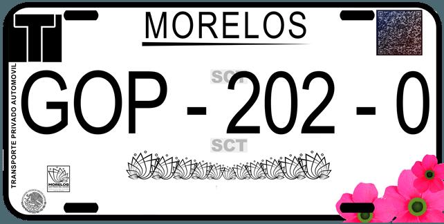 Cómo sacar placas de Morelos