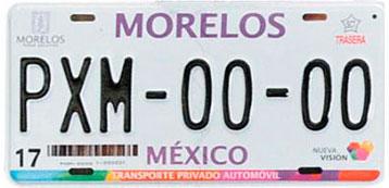 Requisitos para obtener placas de Morelos