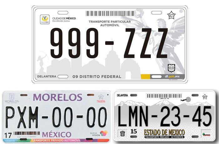 Cambio de placas de Morelos a CDMX o EDOMEX