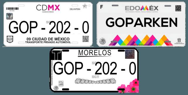 Cambiar placas de Morelos a EDOMEX