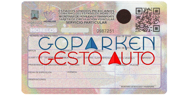 Gestoría vehicular para baja de placas de Morelos