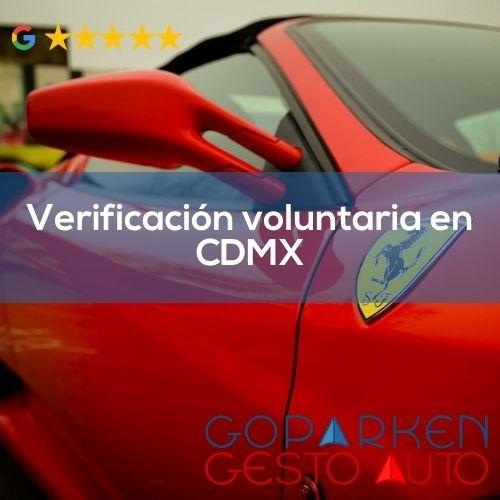 Verificación voluntaria CDMX 2021 para placas de Morelos